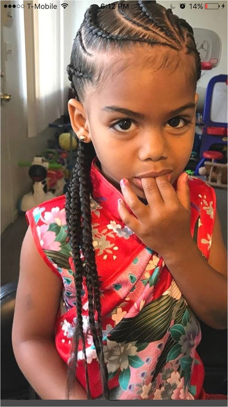 cute mixed girls hairstyles