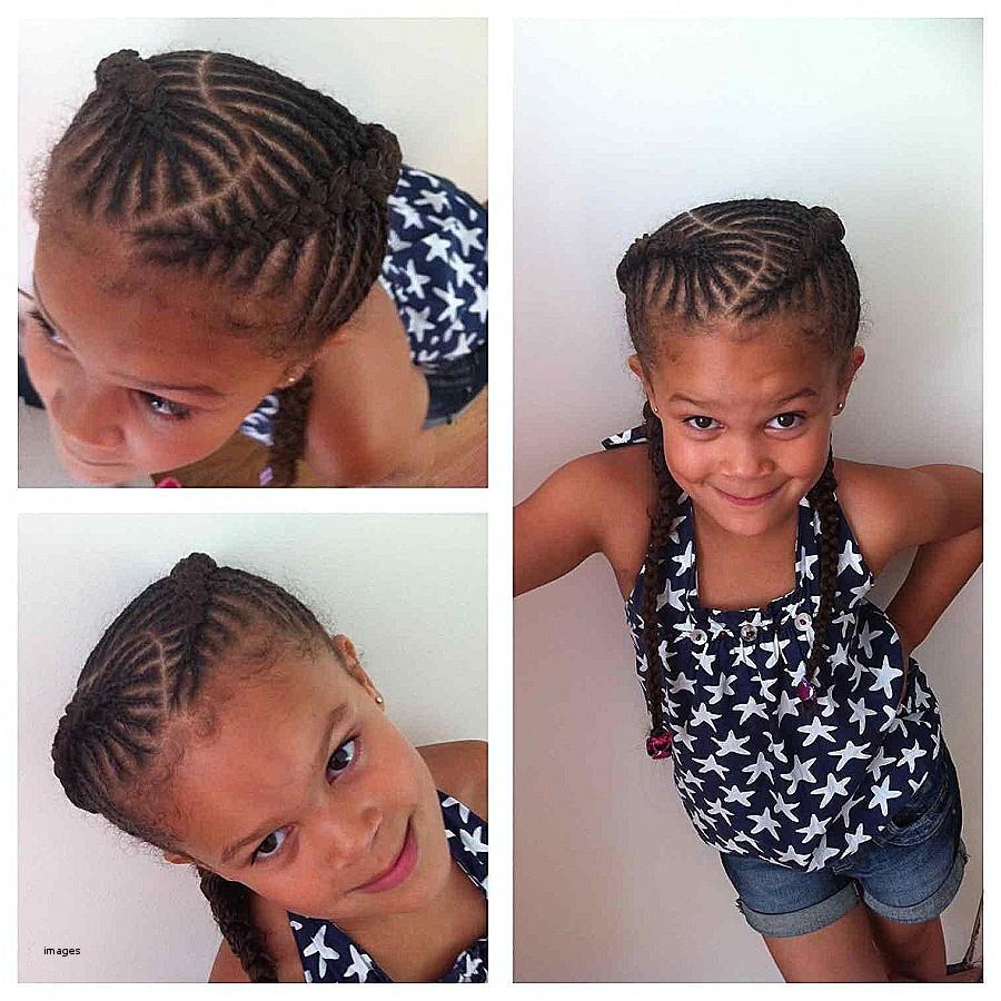 mixed girl hairstyles braids