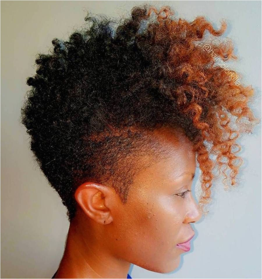 Women s Tapered Mohawk For Natural Hair