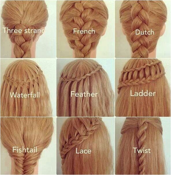 Names Of Braided Hairstyles Different Types Of Braids and their Names