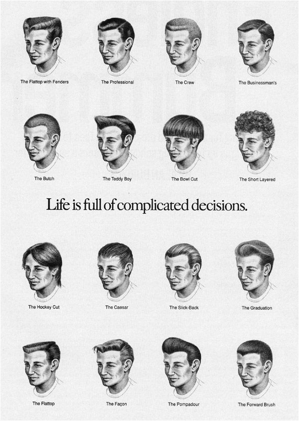 men haircut names