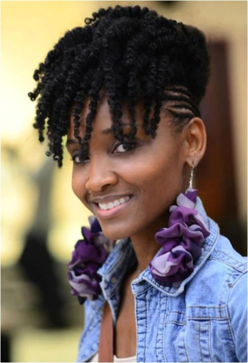 braided side hairstyles black women