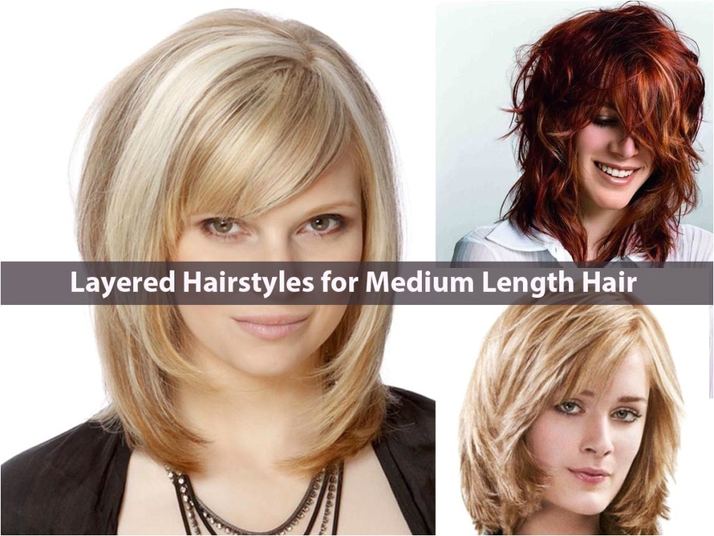 latest everlasting layered hairstyles medium length hair