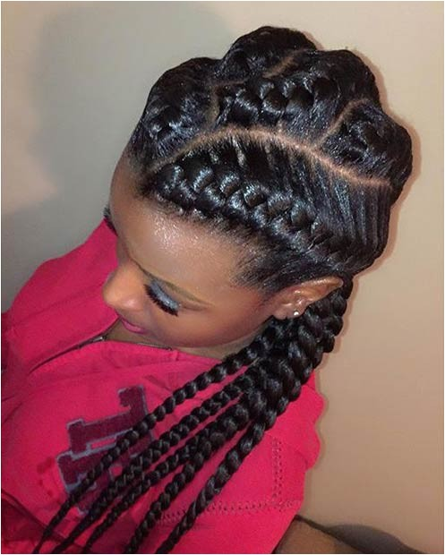 31 goddess braid hairstyles for black women