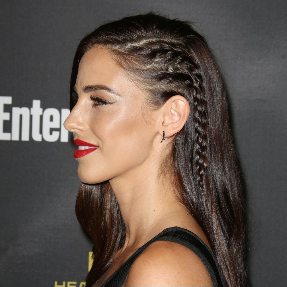 Side braids which make your head look like it s shaved 30 amazing party hair styles and how to recreate them