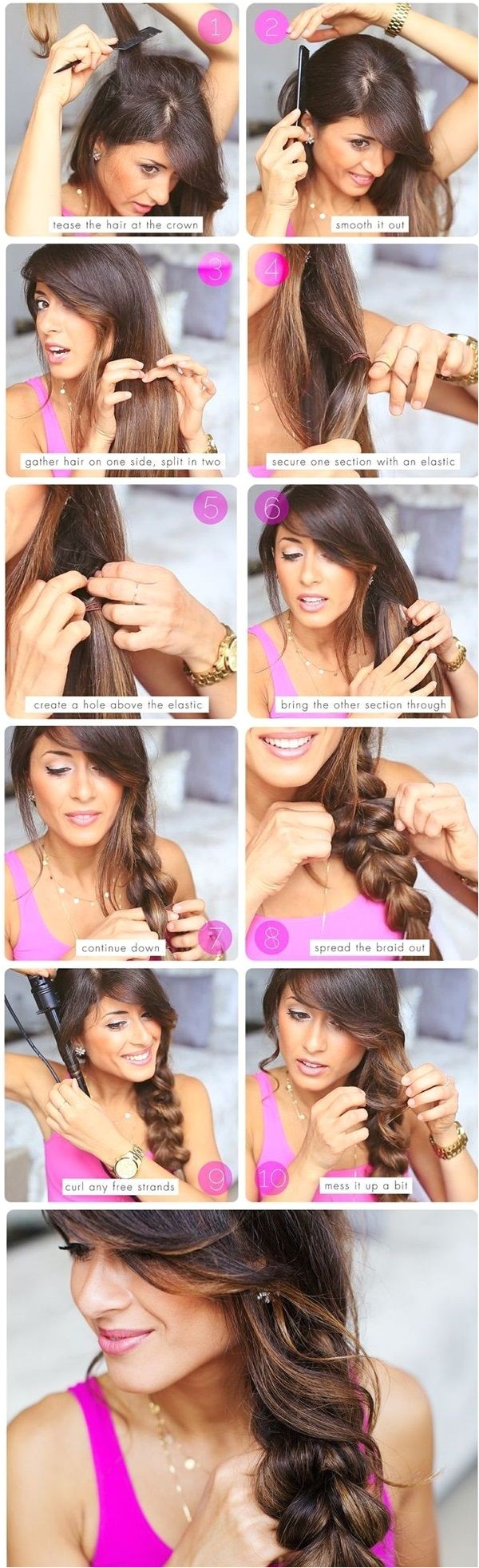 50 Simple Five Minute Hairstyles to snatch the attention DIY