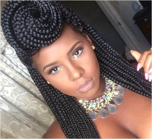 15 exquisite box braids hairstyles to do yourself