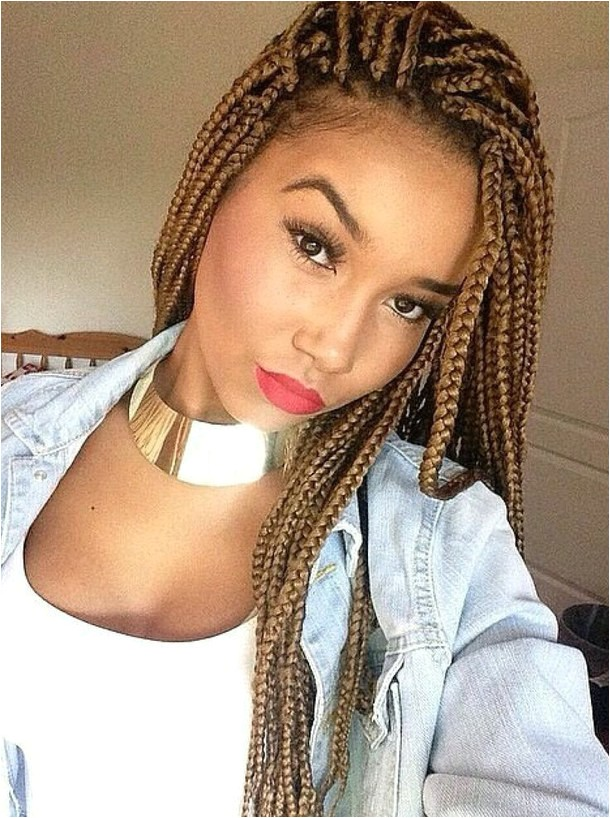 fabulous long box braids hairstyles