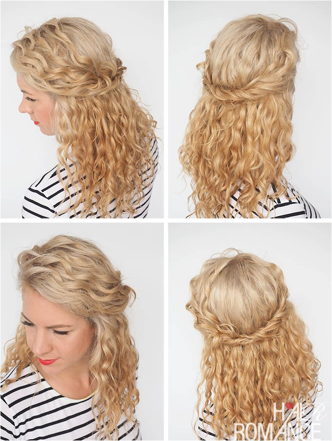 30 curly hairstyles 30 days day 22