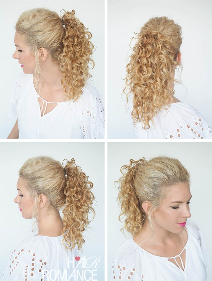 30 curly hairstyles 30 days day 29