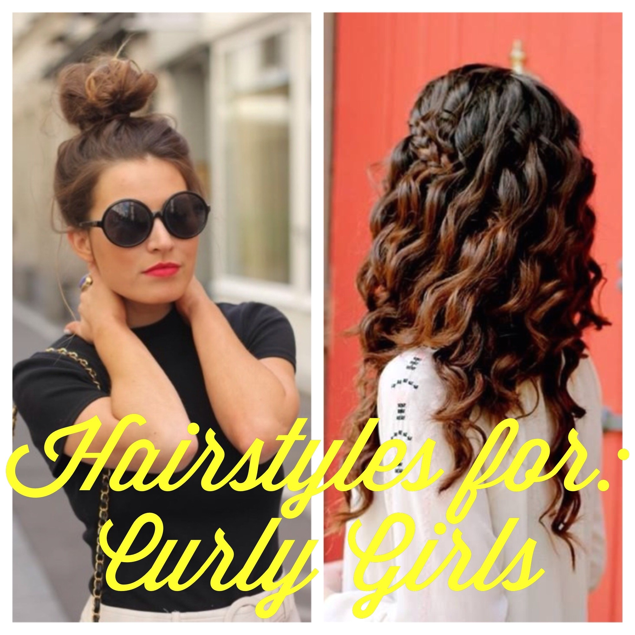 blogust day 28 hairstyles for curly girls