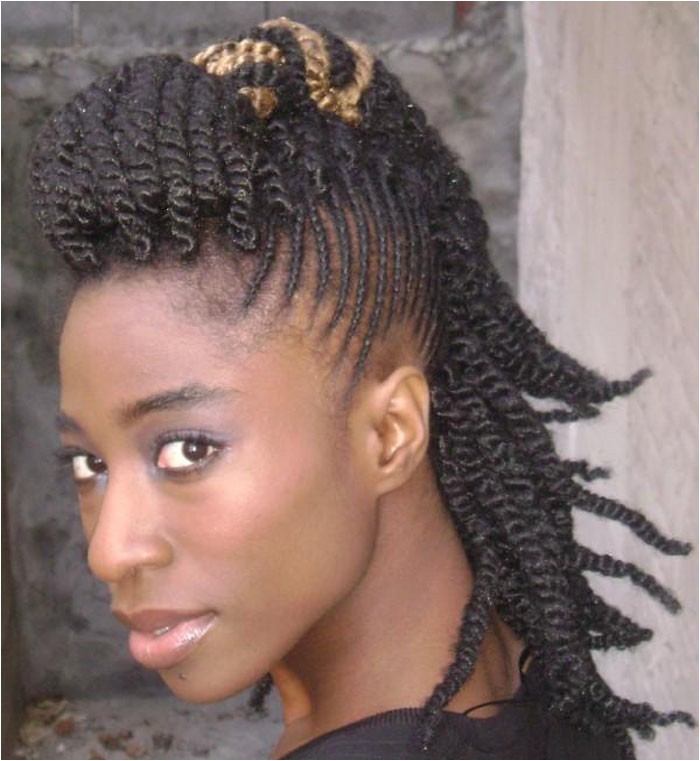 mohawk hairstyles black women