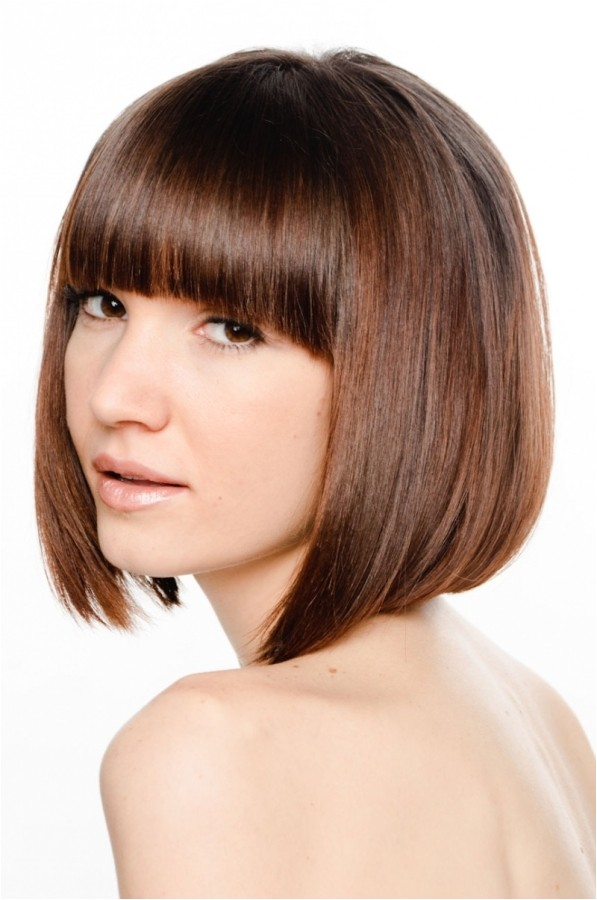 bob haircuts with bangs 2012 2013 pictures
