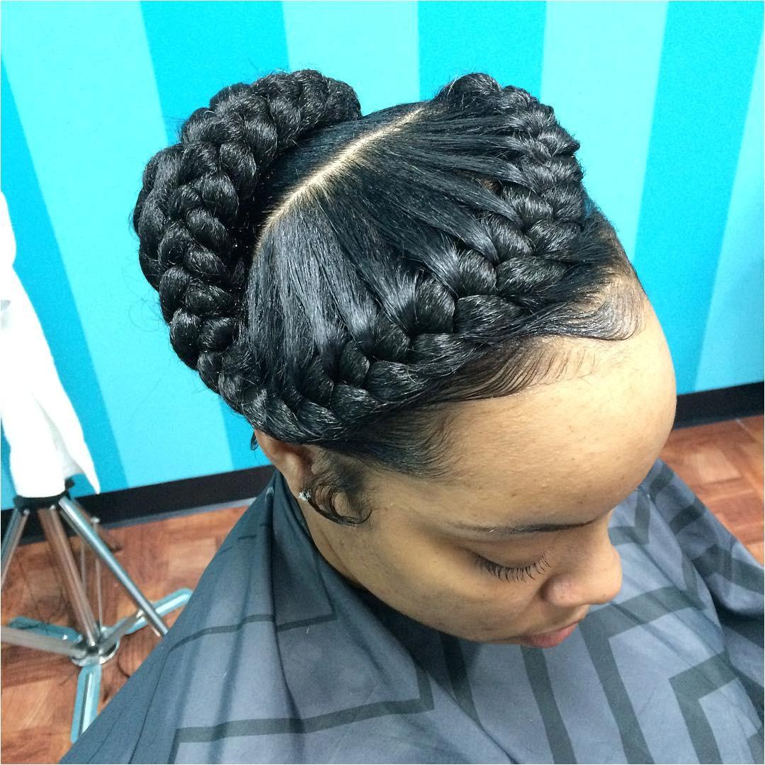 goddess braided hairstyle