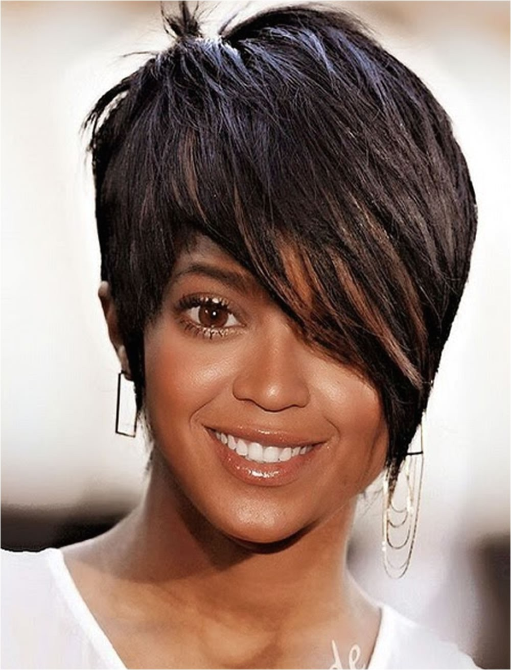 short cut black hairstyles 2018
