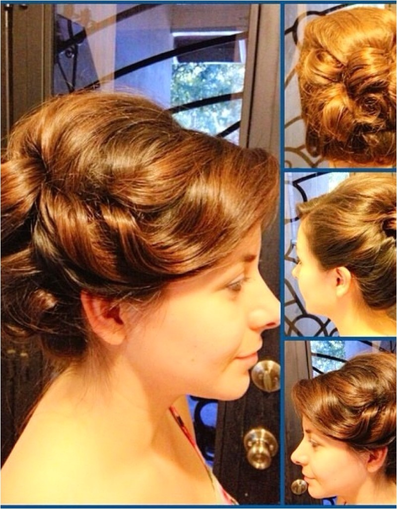 pin up hairstyles for long curly hair