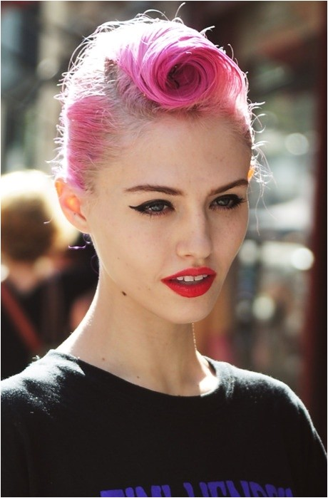 pin up hairstyles for long hair