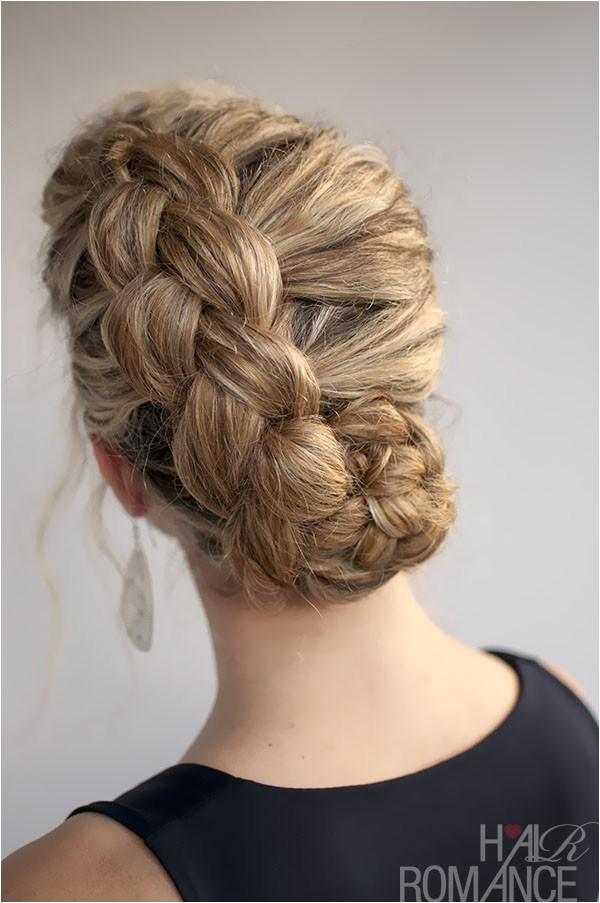 hairstyle for curly hair dutch braid tutorial