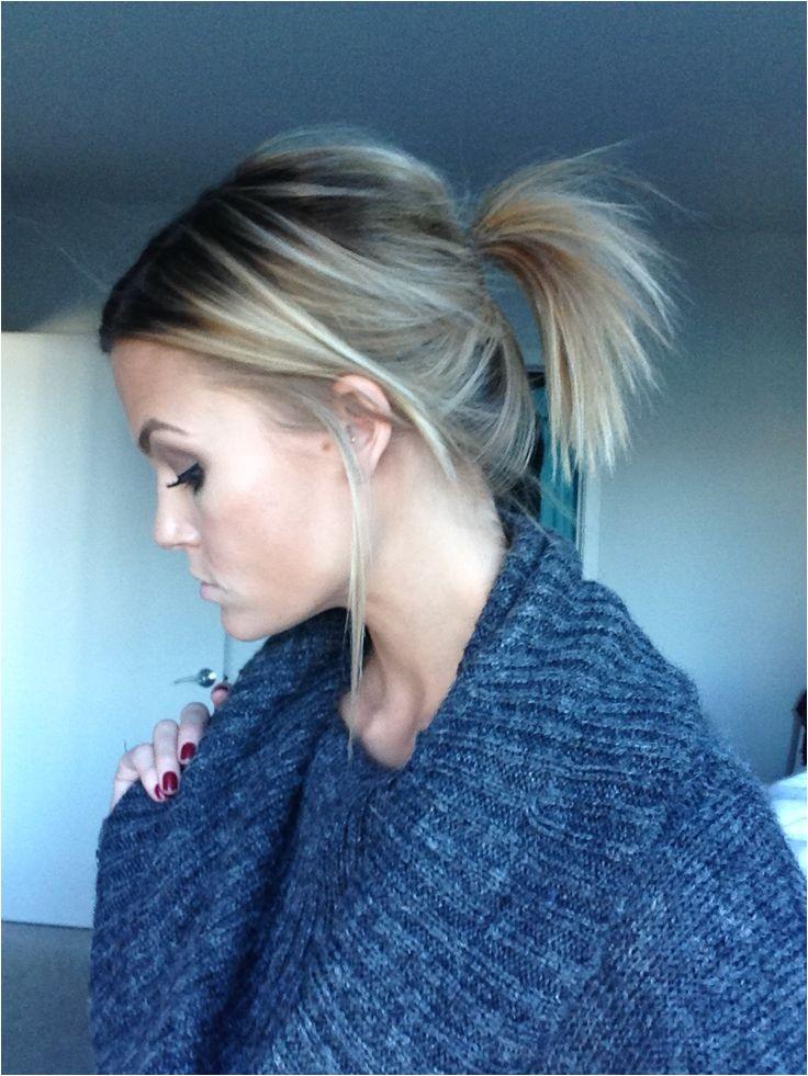 short ponytail hairstyles