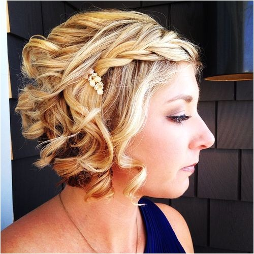 20 hottest prom hairstyles for short hair