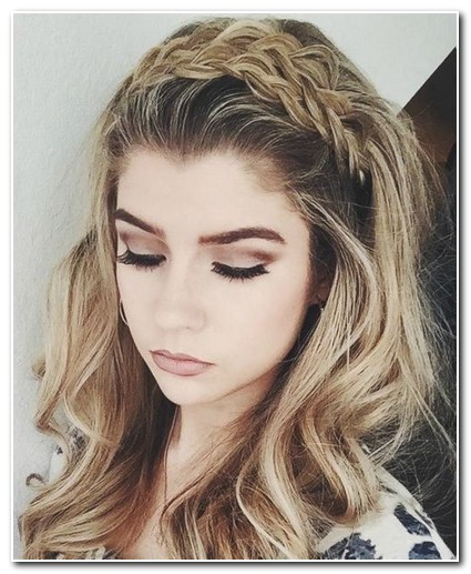 prom hairstyles for medium hair with braids