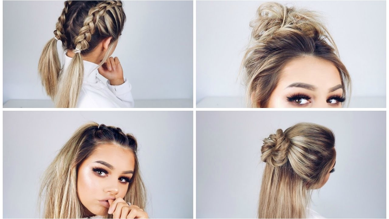 Quick but Cute Hairstyles Quick and Easy Hairstyles