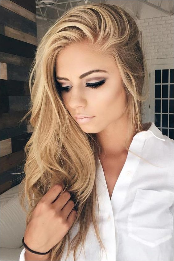 Really Cute Hairstyles for Straightened Hair Straight Hairstyles for Long Hair
