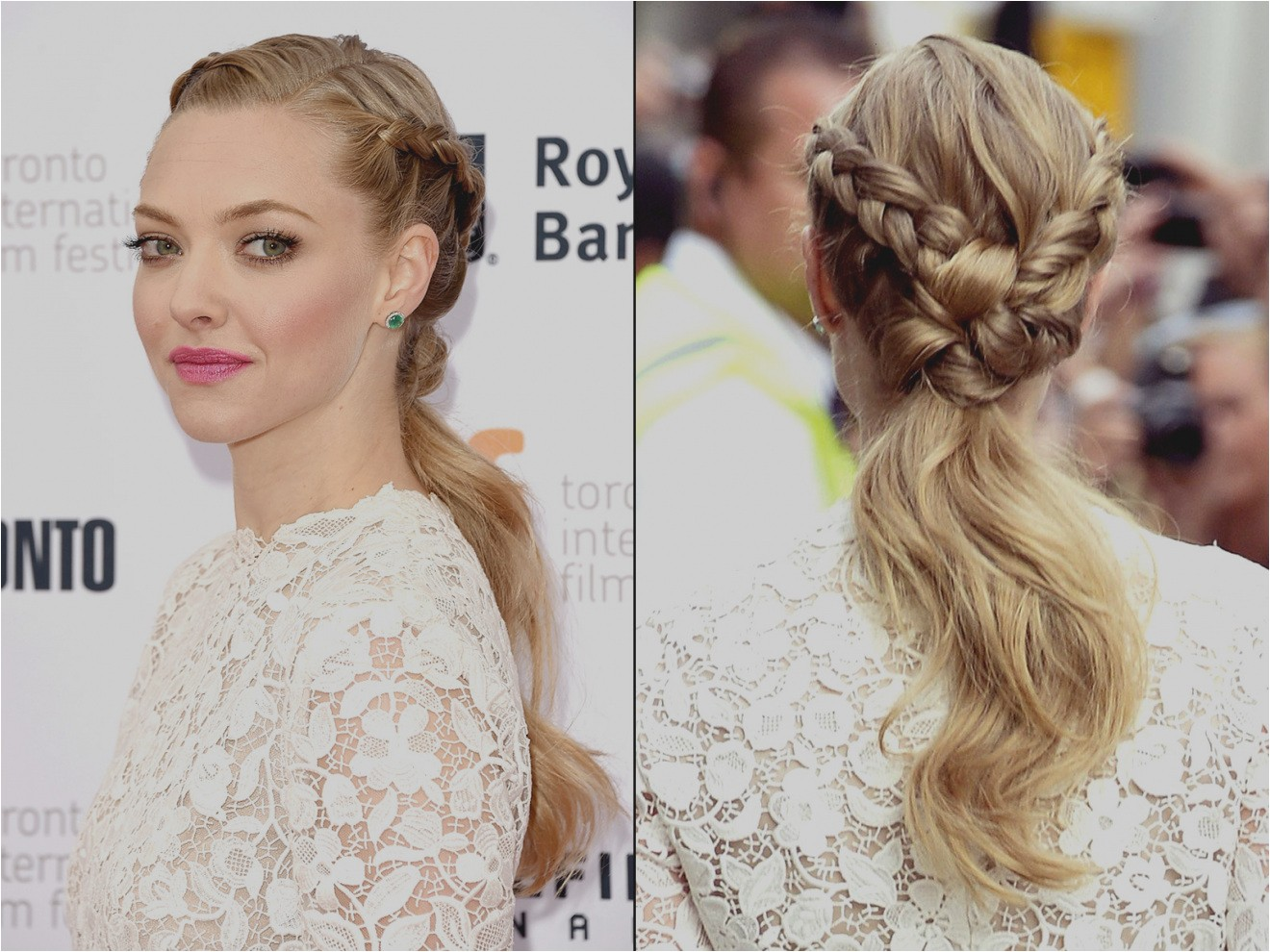 elegant braid hairstyles pics celebs braided on the red carpet