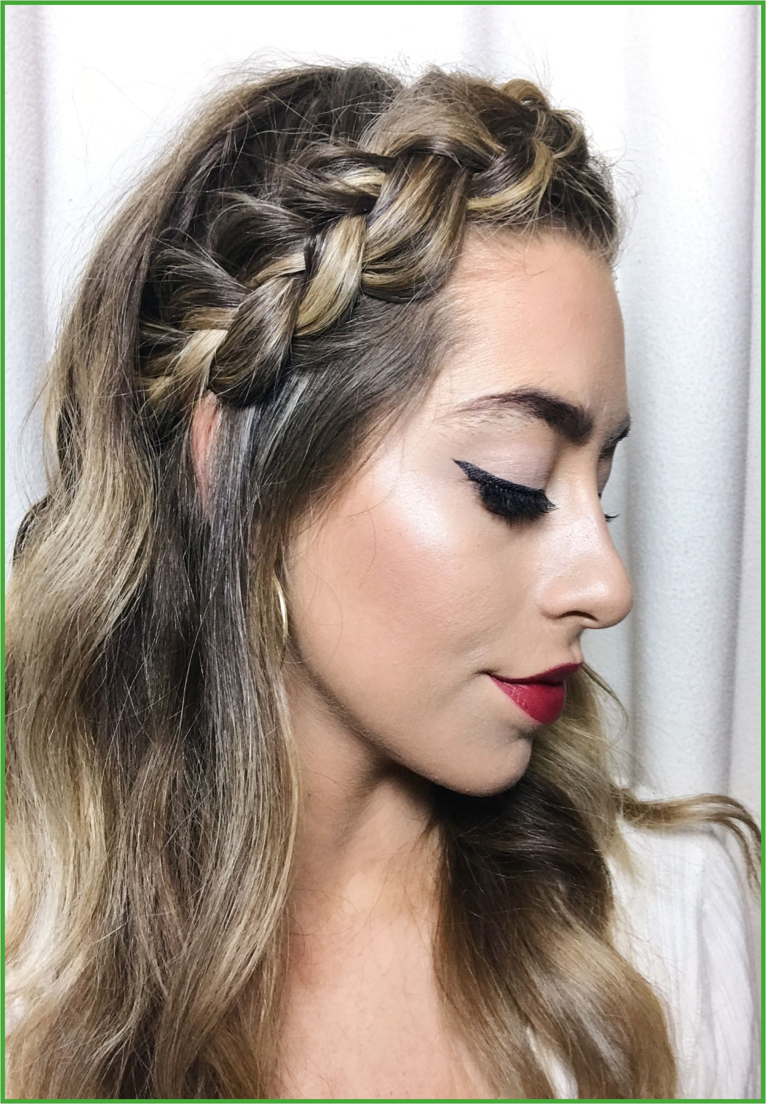 Women Hairstyles Blonde Round Faces braided hairstyles makeup long hair