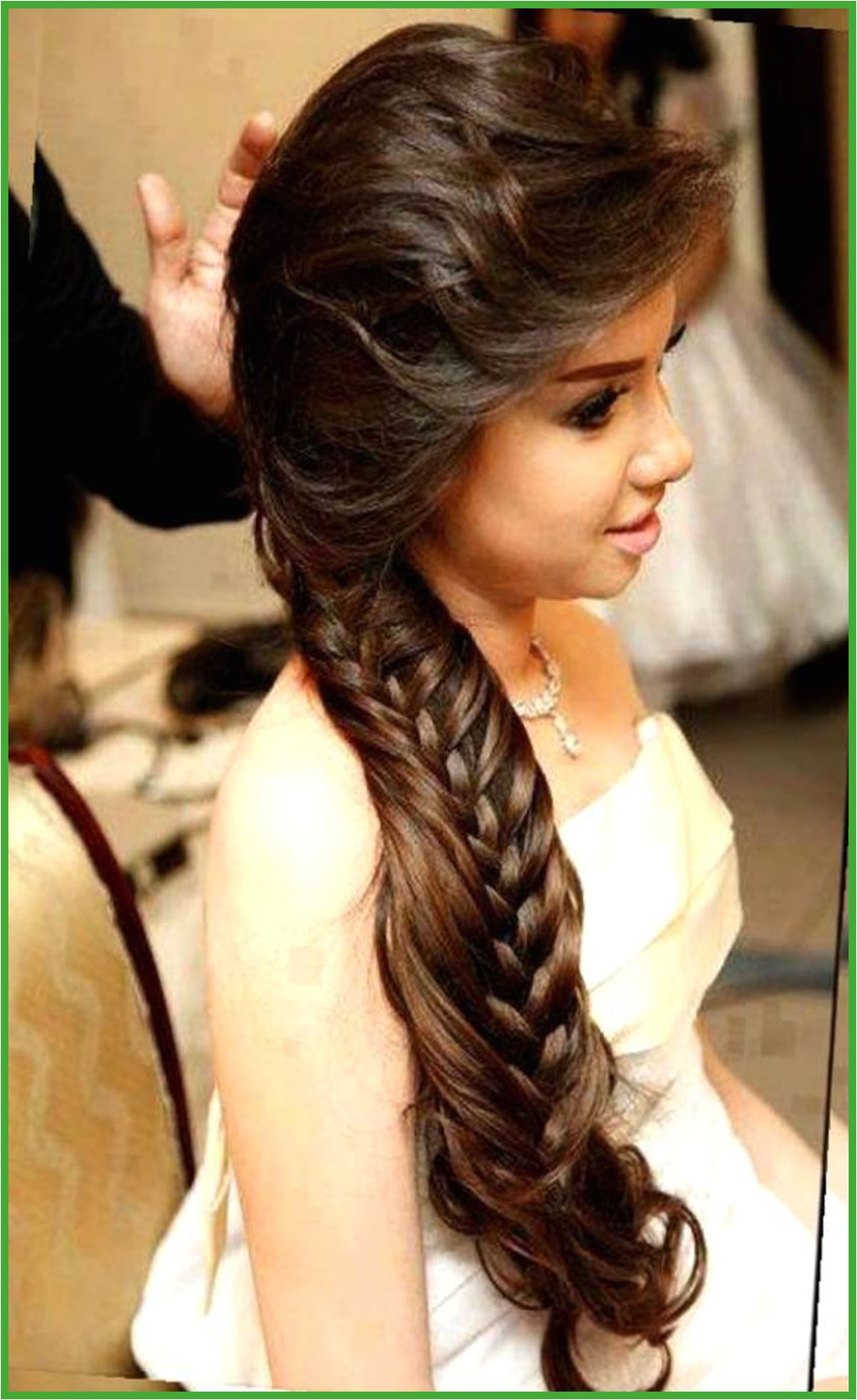 Fresh Simple Indian Hairstyles For Round Face Bizdrsolution Against fortable Hair Braids