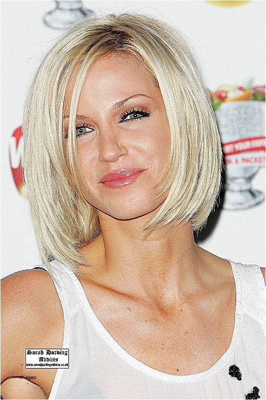 sarah harding bob hairstyle
