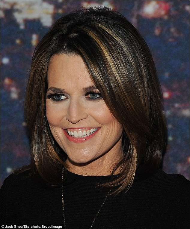 savannah guthrie hairstyle 2015