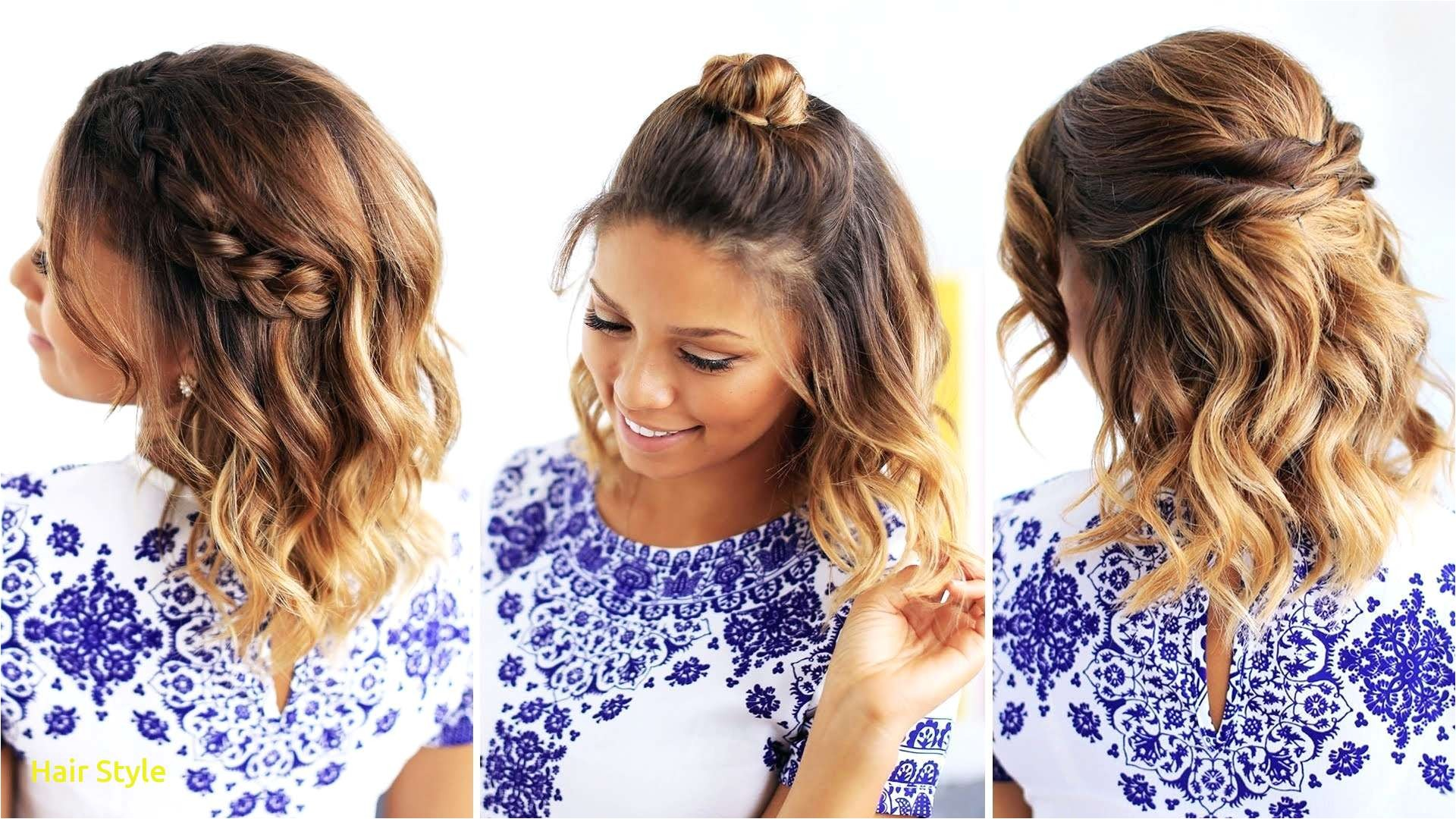 21 lovely easy hairstyles for short hair with pictures pics