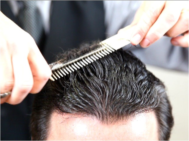 how to cut hair learn about basic barbering techniques barbering