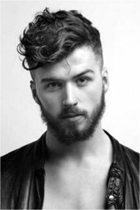 curly fade haircut for men