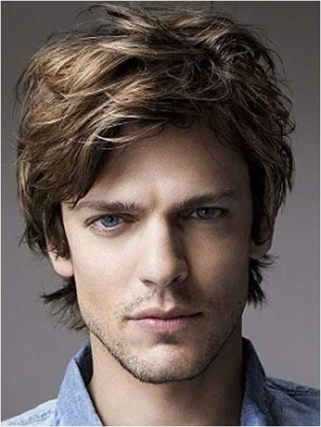 hairstyle for semi curly hair male