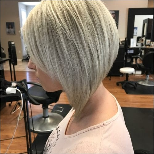severe bob haircut
