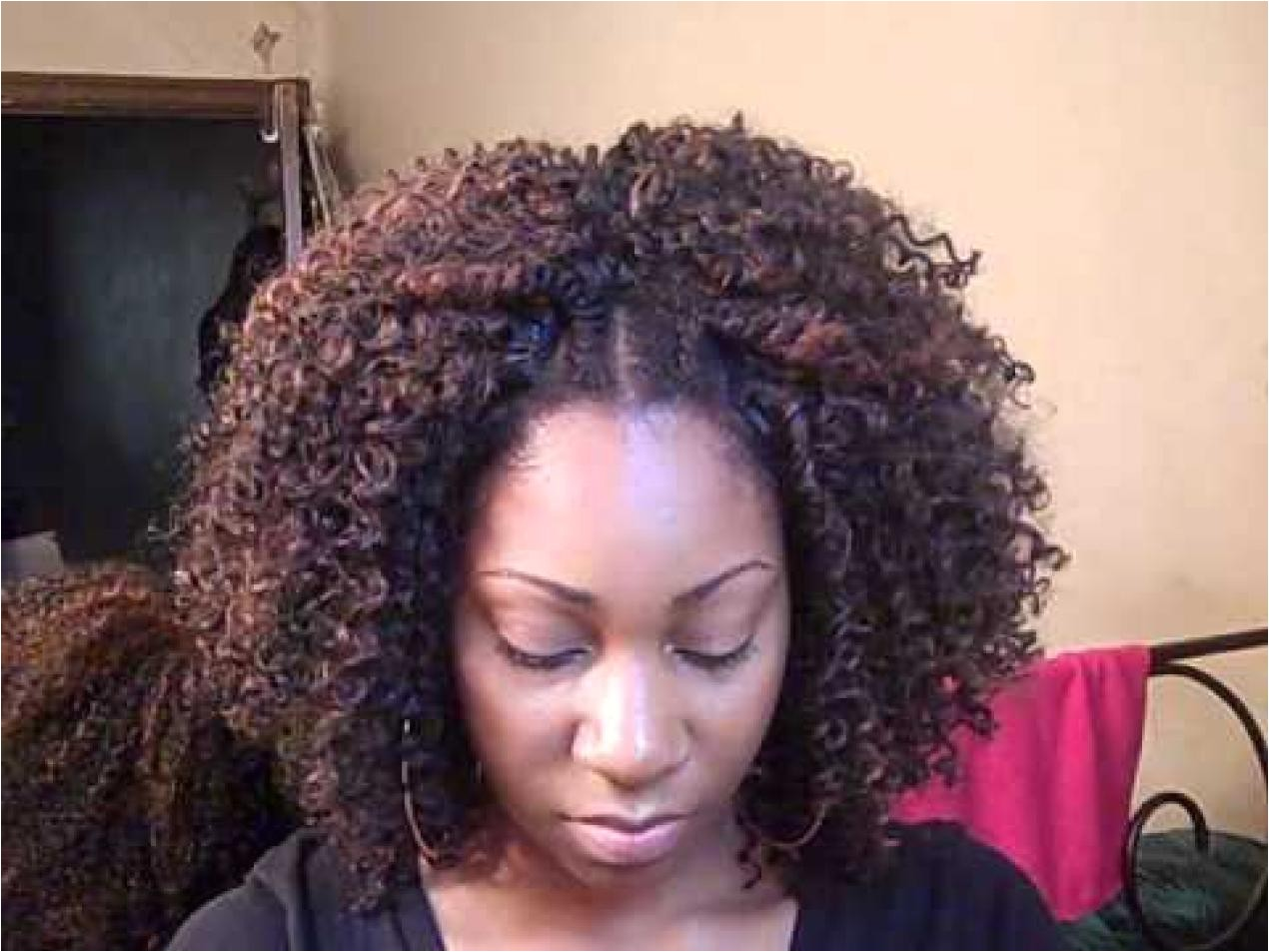 curly sew in hairstyles