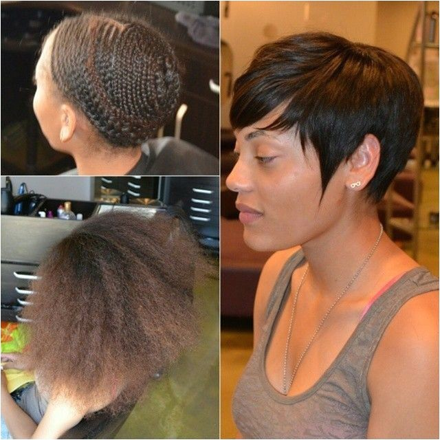chic sew in hairstyles for black women