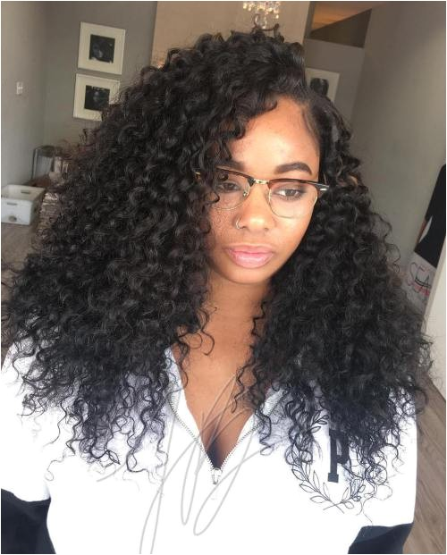 Sew In Hairstyles with Curly Hair Sew Hot 30 Gorgeous Sew In Hairstyles