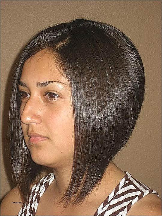 sharp angled haircut