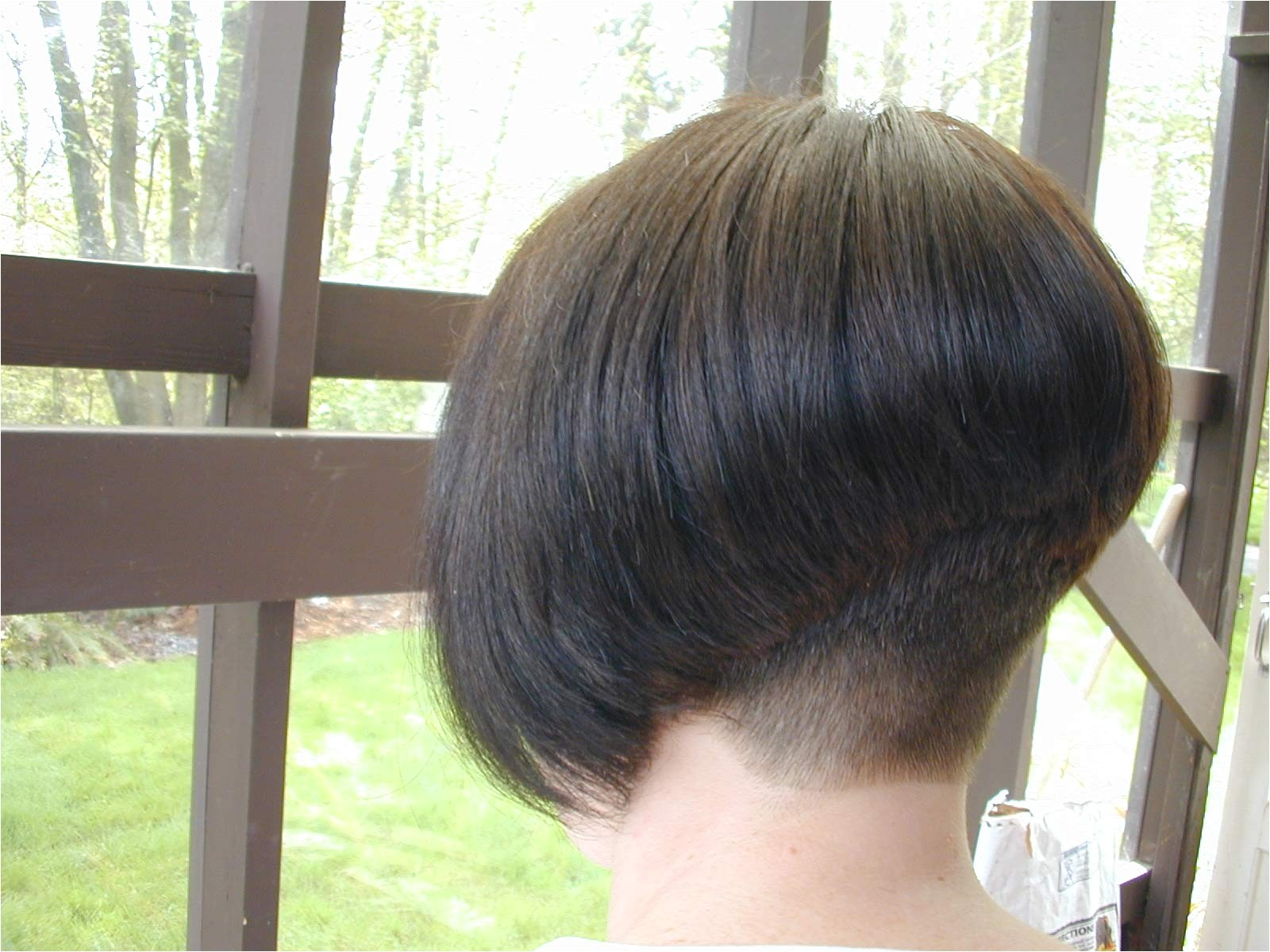 pictures of short bob haircuts front and back