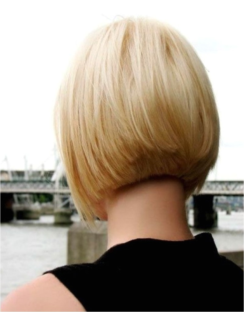 short layered bob hairstyles front and back view