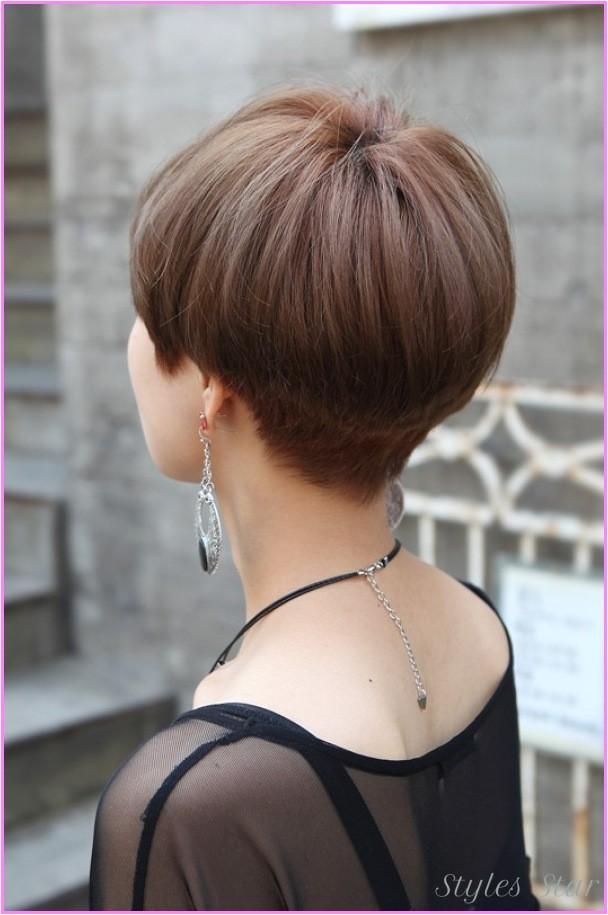 short medium haircuts front back