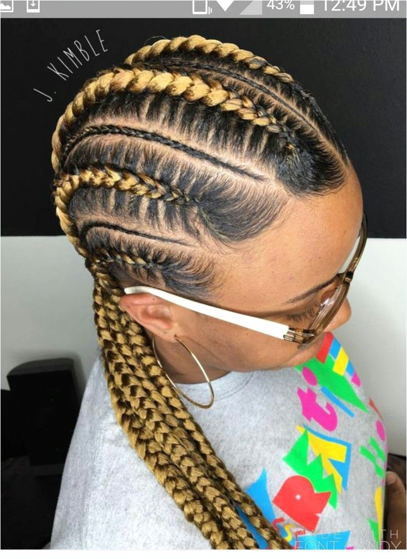 Braided Hairstyle Awesome Braid Hairstyles New Big Braids Hairstyles Fresh Micro Hairstyles 0d