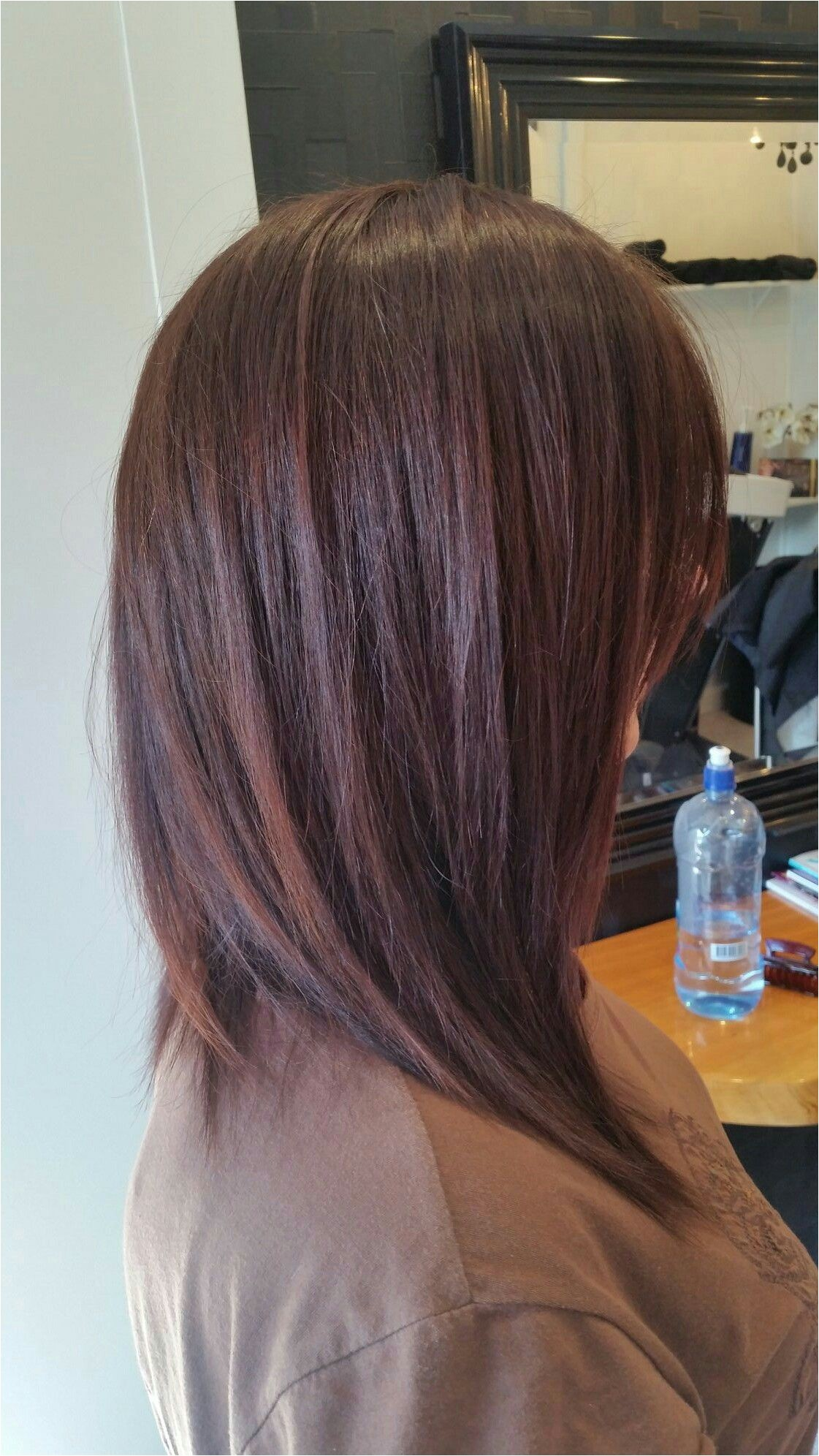 Short Curly Aline Hairstyles A Line Textured Long Bob Hair In 2018 Pinterest