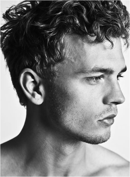 mens hairstyles curly