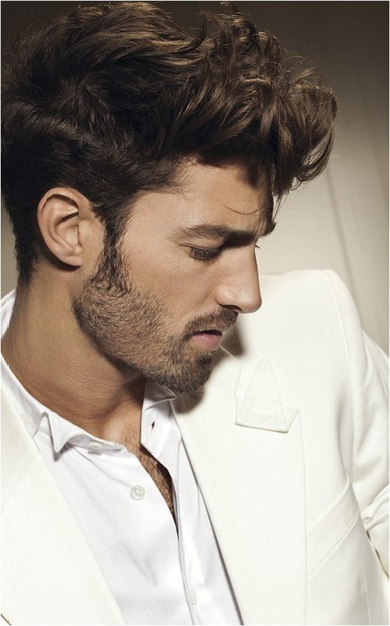 mens curly hairstyles 2012