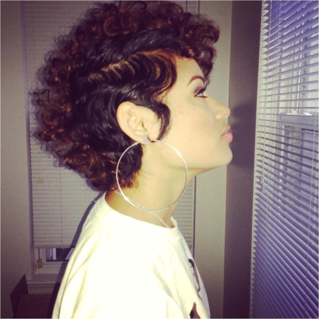 mixed girl short hairstyles