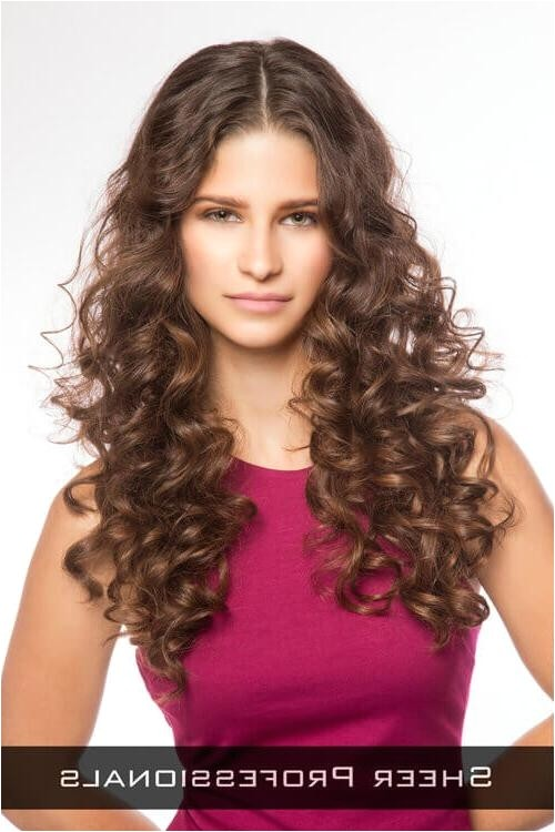 long curly hairstyles for round faces 2011